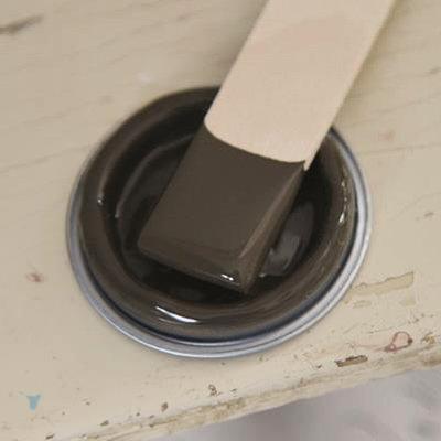 Vintage Paint Chocolate Brown