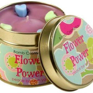 Bomb Cosmetics - Candela in latta Flower Power