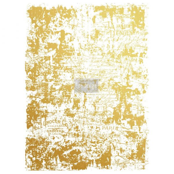 Redesign Gold Transfer dorato