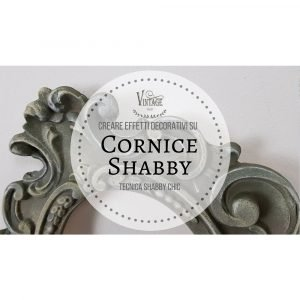 corso cornice shabby vintage paint