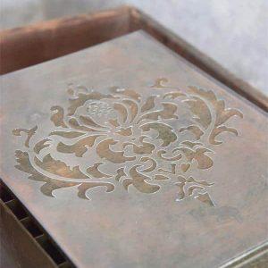 Stencil Vintage Filigrana 1