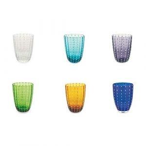 6 Bicchieri Acqua Vetro Kalahari