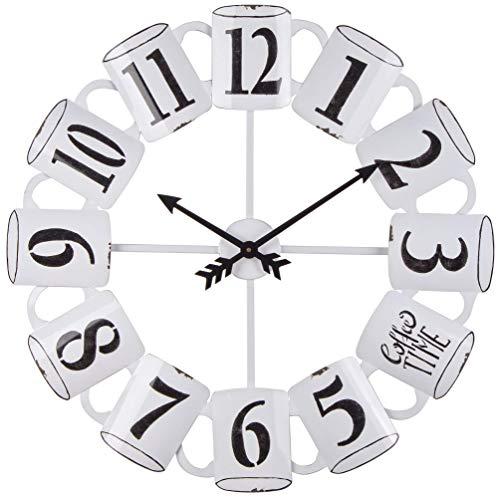 BIZZOTTO Orologio da Parete, 68x5 cm in Acciaio, Mug