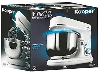 planetaria 1300 w 5l 6 vel. bianco