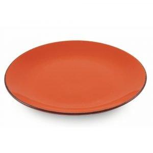 6 Piatti Piani Arancio