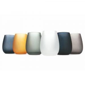Set 6 Bicchieri Multicolore per Acqua Cala Dorada