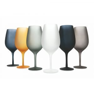 Set 6 calici in vetro Vino Cala Dorada