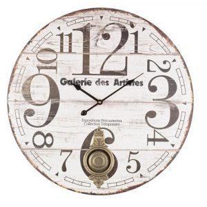 Orologio da Parete in legno con pendolo