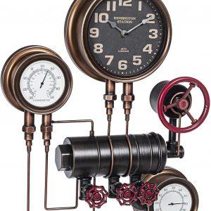 BIZZOTTO Orologio da Parete con Termometro e Igrometro Charles System 120-1