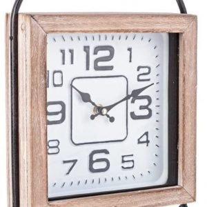 BIZZOTTO Orologio da Tavolo in Legno Ticking Q90