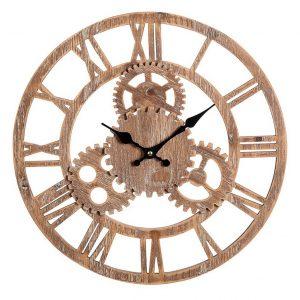 Orologio Shabby da parete in legno Process